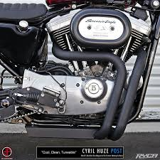 box pipe exhaust for harley sportster ryca motors online store