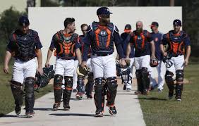 Image result for Astros arrive in training camp 2018