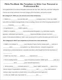 biography example biography report templates sample biography  biography template 20 word pdf documents
