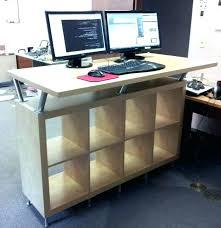 stand up office desk desks office desk best stand up workstation with regard to awesome residence