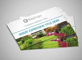 landscaping templates free 10 best landscaping business card templates pages ai psd