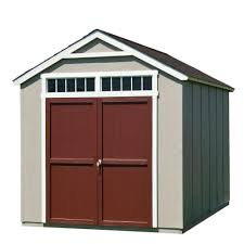 garden sheds home depot. Wood Storage Shed With Black Onyx Shingles Garden Sheds Home Depot