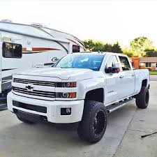 chevrolet trucks 2015 white. Simple Chevrolet Durrrrtymax White Lifted 2015 Chevy Silverado 2500hd Duramax Diesel With  Camper 2 Of My Favorite Things In Chevrolet Trucks White O