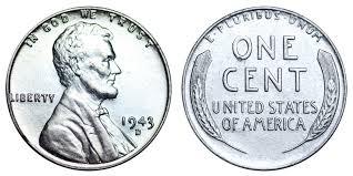 1943 D Lincoln Wheat Penny Steel Cent Coin Value Prices
