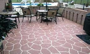 outdoor flooring ideas over concenrete backyard floor tiles best