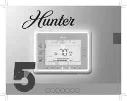 hunter fan thermostat 44905 user guide manualsonline com owner s manual model 44905
