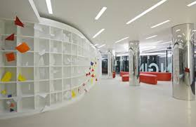 modern interior office. brilliant modern modern and awesome hallways interior office design idea with bright color throughout