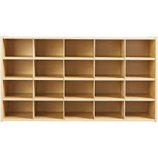 20-Cubby Storage Cabinet