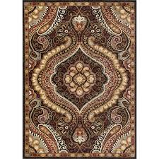 tayse transitional area rugs brown grand black 9 ft 3 in x 6 furniture splendid