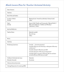 Download Lesson Plan Template Blank Lesson Plan Template Free Downloadable Lesson Plan Plan Bee
