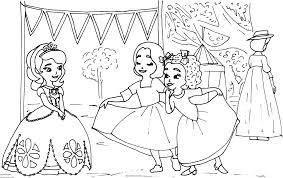 Small Picture Sofia The First Coloring Pages Sofia the First Coloring Page with