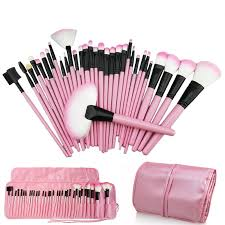 china whole 32pcs pink professional plete cosmetic makeup brushes set china 32 pcs makeup brush set make up brush set