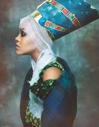 Atf Rihanna Chanels Queen Nefertiti In Vogue Arabia