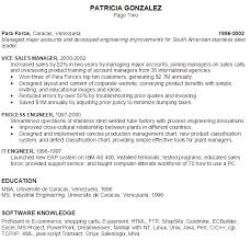 ... Sample Resume E-commerce Project Manager P2