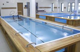 hudson aquatic s custom therapy and freestanding fiberglass pools are designed in a variety of sizes configurations and options like spa jets and