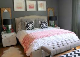Turquoise room design, pink and grey bedroom ideas for women pink . Bedroom,  Charcoal Grey Wall Color For Colonial Bedroom Decorating Ideas For Young  Women ...