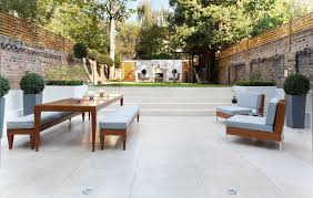 transitional backyard patio photo in london with tile contemporary outdoor patio ideas