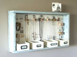 You can make your own DIY jewelry holder in few easy steps at home. Get  some ideas on how to make your own DIY jewelry organizer to display your  lovely ...