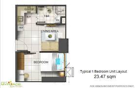 Two Bedroom Unit (40 sqm)