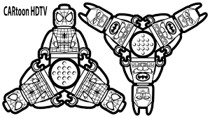 Small Picture Spinner Lego Batman vs Spinner Lego Spiderman Coloring Pages