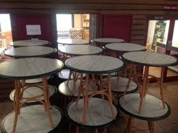 tasty secondhand chairs and tables restaurant or cafe ex used coffee