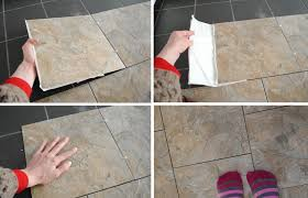 the best way to lay vinyl floor tiles