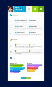 Flatcv Resume Portfolio Html5 By Themerex Themeforest
