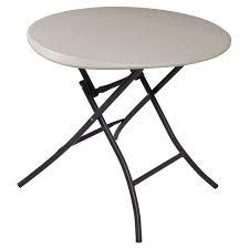 lifetime round folding tables