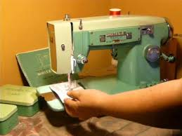 White Sewing Machine Model 1265