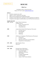 Cashier Resume Templ Best Certificate Of Employment Sample For
