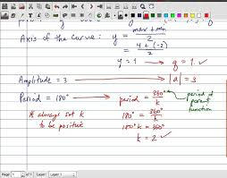 mcr3u periodic functions determine equation of sinusoidal function from graph