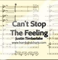 Cant Chart Cant Stop The Feeling Horn Chart Horn Band Charts