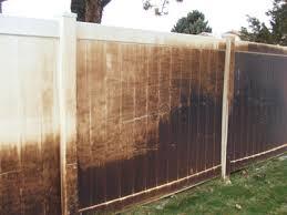 brown vinyl fence. Brown Vinyl Fence