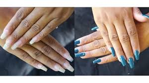 easy diy how to refill and fix your acrylic nails kiss acrylic nail kit