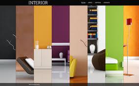 Interior Design Flash Template 40372