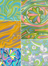 Top Textile Designers The Sixties Part 3 Psychedelia 60s Fashion