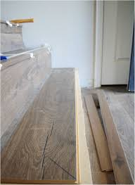 how to install vinyl plank flooring on stairs elegant jo s house quick step stair installation