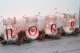 Mason Jar Decorating Ideas For Christmas Magicial Light Mason Jar For Christmas Ideas Trends60usCom 19