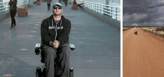 Janne Kouri Rode a Powered Wheelchair from Manhattan Beach to D.C. to Raise  Awareness for Paralysis Research - Southbay