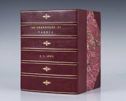 the lion the witch and the wardrobe essay stone table the  chronicles of narnia c s lewis first edition rare book the chronicles of narnia set the lion