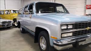 1991 Chevy Suburban tc - YouTube