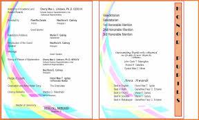Graduation Program Template Pdf Awards Program Template Rome Fontanacountryinn Com