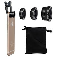 Universal Fish Eye 3in1 Clip Fisheye Smartphone Camera Lens Wide
