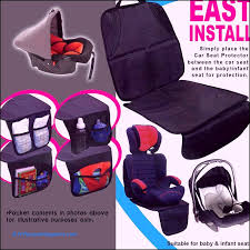 car seat protector pad cover protector nice baby s infant car booster seat protects auto leather