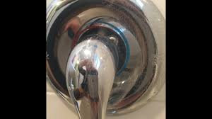 cleaning hard water spots off chrome bathroom fixtures quick easy