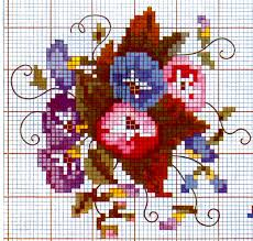 Cross Stitch Design Charts In Color By Anne Champe Orr