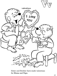 Small Picture bears coloring pages
