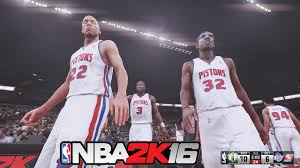 NBA 2K16 - 2004 Detroit Pistons vs 2008 ...