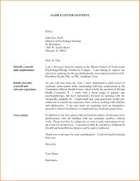 letter of intent job sample letter of intent for job template download