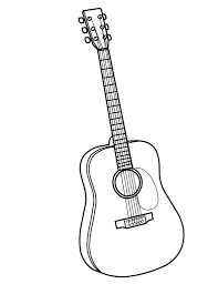 Guitar outline drawing at getdrawings free for personal use guitar outline drawing 19 guitar outline drawing